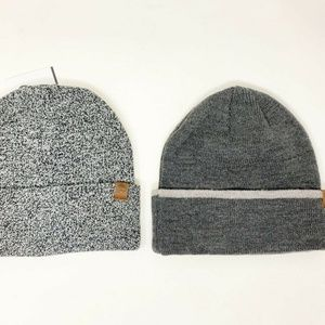 Timberland Men's Beanie Hats Lot of 2 Multi-Color